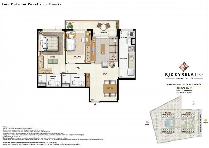 Apartamento em Jacarepaguá  -  Rio de Janeiro - RJ